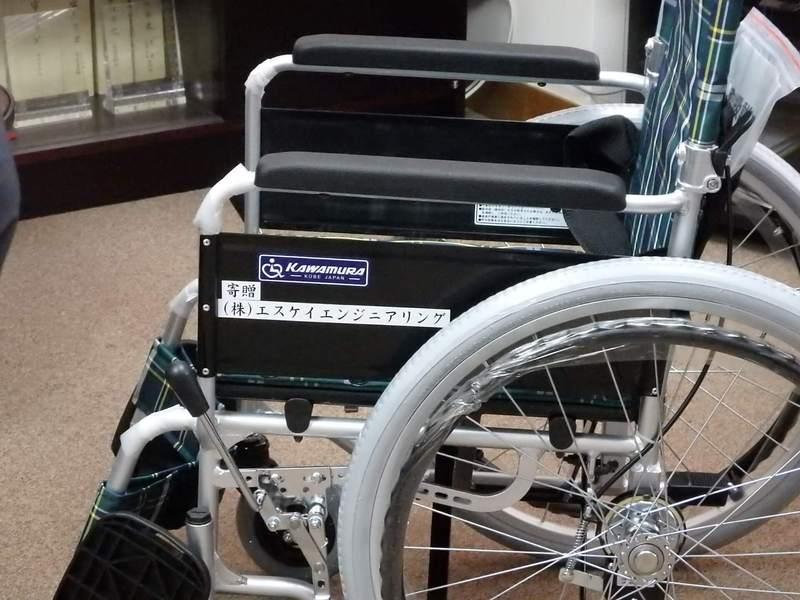 CSR-車椅子寄贈