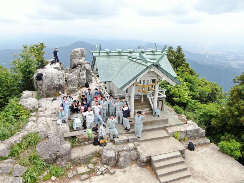 測量の日2019年6月3日-宝満山登山①